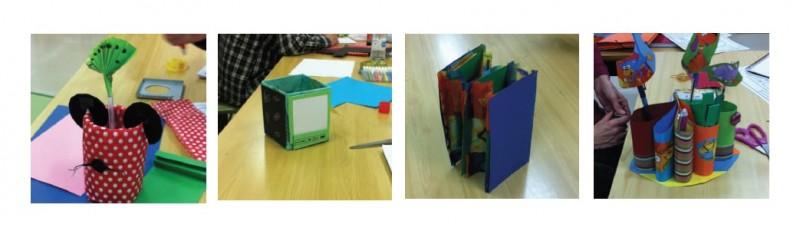 Prototipado con papel y pegamento prototipado Innokabi
