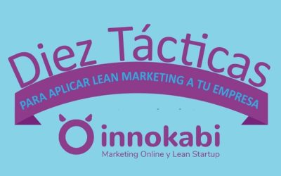 10 Tácticas de Lean Marketing para Startups aplicables a tu empresa