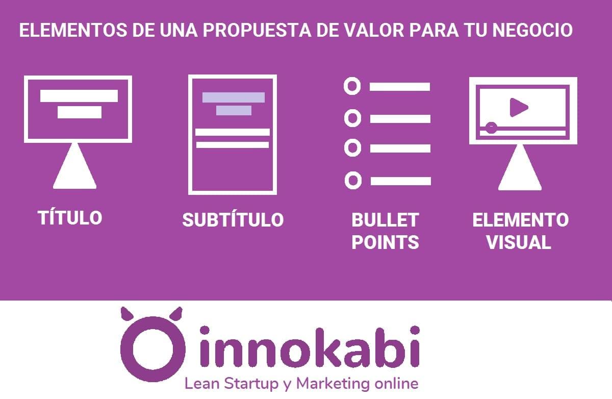 Elementos propuesta valor blog Innokabi