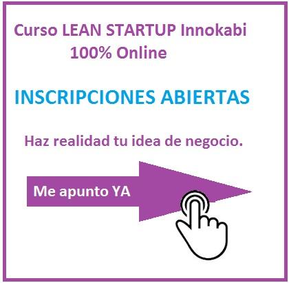 Banner curso lean startup cuadrado