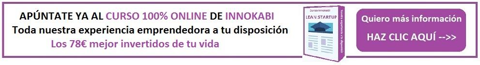 curso ONLINE lean startup Innokabi