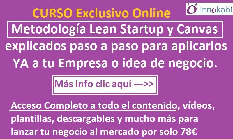 Banner curso online Lean Startup