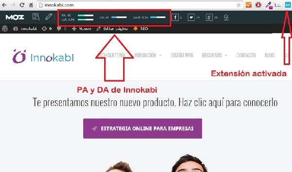 Innokabi MOZ Como posicionar un post en la primera página de Google tecnicas SEO para principiantes