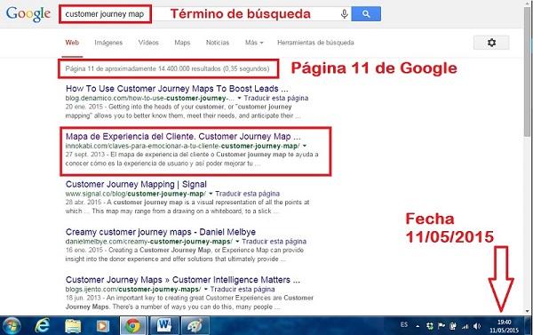 Innokabi Posicion 102 Como posicionar un post en la primera página de Google 11 de mayo 2015 tecnicas seo para principiantes