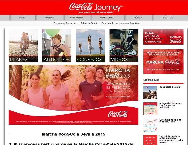 Marketing de contenidos ejemplo coca cola Innokabi lean