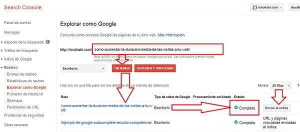 Search Console explorar como Google evitar que te copien contenido de tu web Encontrar ideas para escribir en mi blog 2