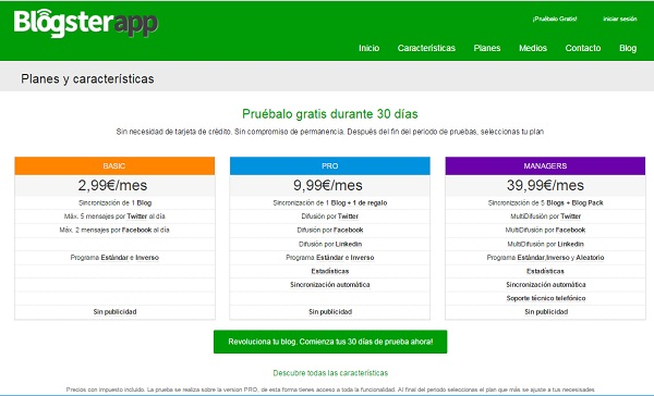 Blogsterapp prueba gratuita como convertir visitas en clientes de tu web