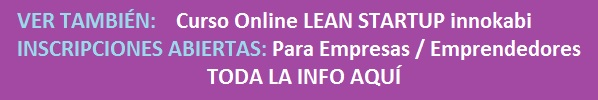 Banner curso online lean startup innokabi para empresas y emprendedores