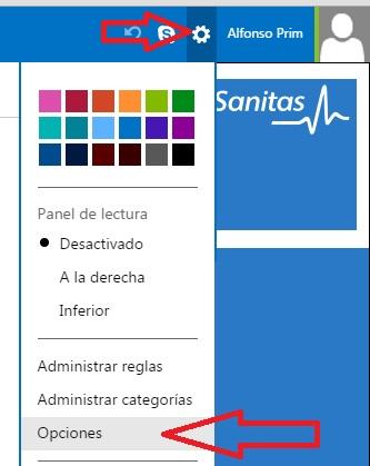 Crear firma de correo electronico en Outlook Microsoft tutorial innokabi