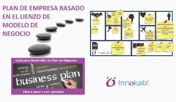 Plan de empresa basado en el lienzo canvas de modelo de negocio Innokabi