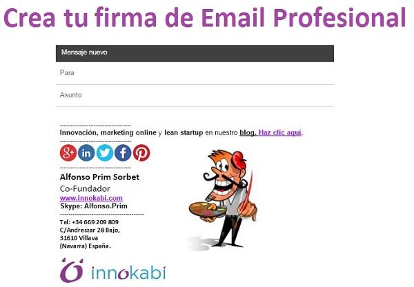 Cómo Crear tu Firma de Correo Electrónico Profesional. Tutorial