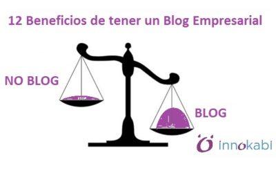 12 Beneficios de tener un Blog Empresarial