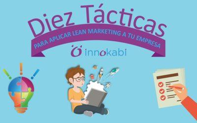 #Infografía 10 tácticas de #leanMarketing para Empresas