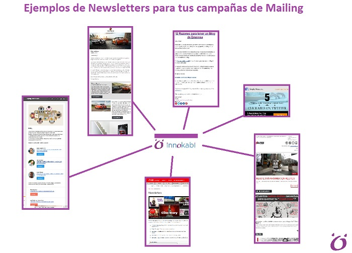 Ejemplos de Newsletter para tus campañas de Email Marketing