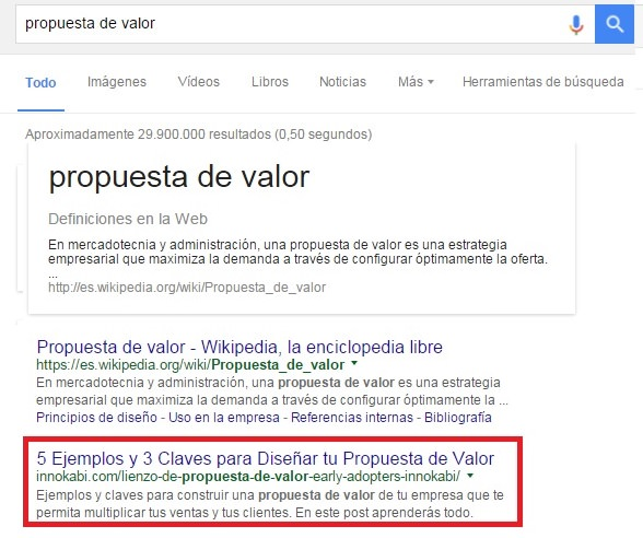 Posicionar un post en top 10 en Google