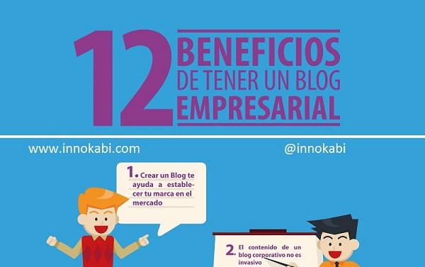 Infografía. Los Beneficios de tener un Blog de Empresa