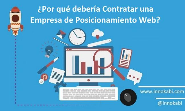 Beneficios Contratar empresa seo posicionamiento web Innokabi