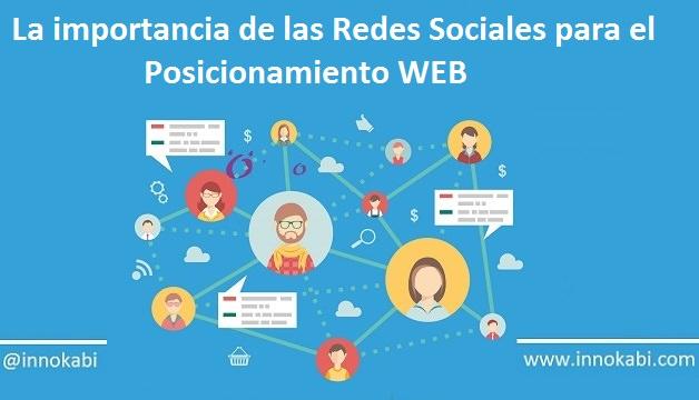 Contratar empresa de posicionamiento web Redes Sociales Innokabi