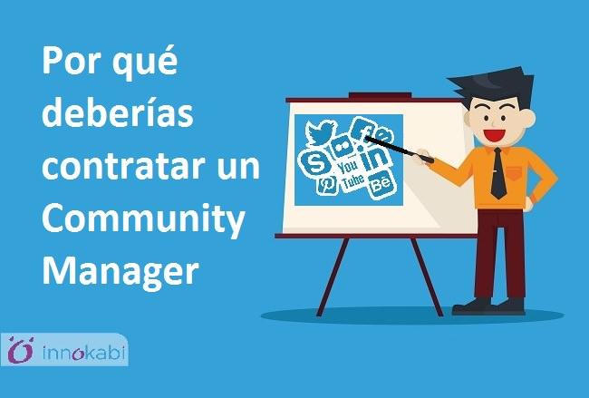 Contratar un Community Manager Innokabi
