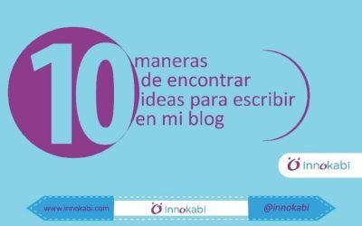 #Infografía 10 Técnicas Probadas para crear #Contenidos en tu #Blog