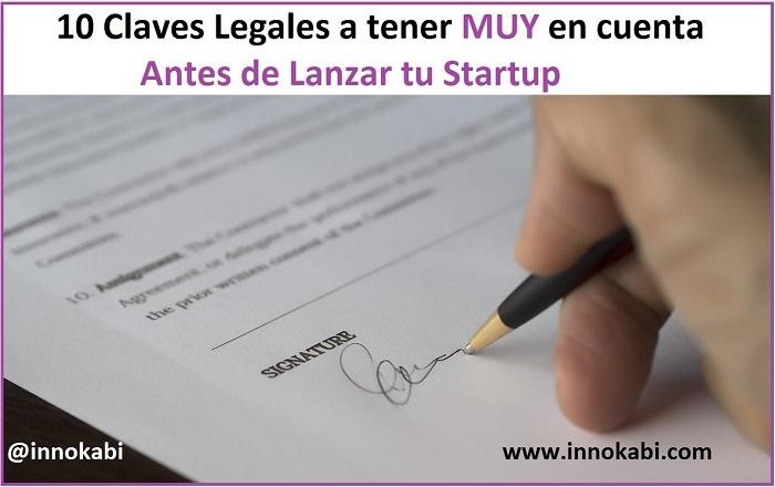 Claves legales lanzar startup mercado Innokabi