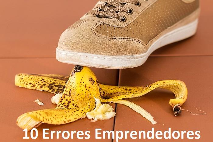 10 Errores Emprendedores portada