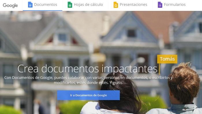 Google Docs herramienta online
