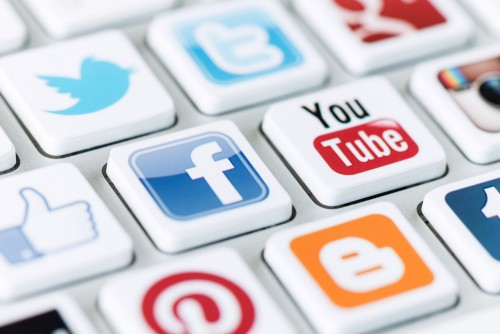 redes sociales para difundir contenido