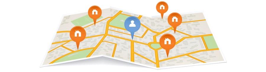Los resultados de búsqueda se ajustarán a tu localización exacta