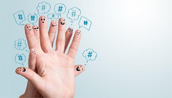 Utiliza hashtags divertidos para atraer clientes en tus redes sociales