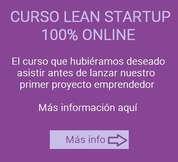 Banner curso lean startup online