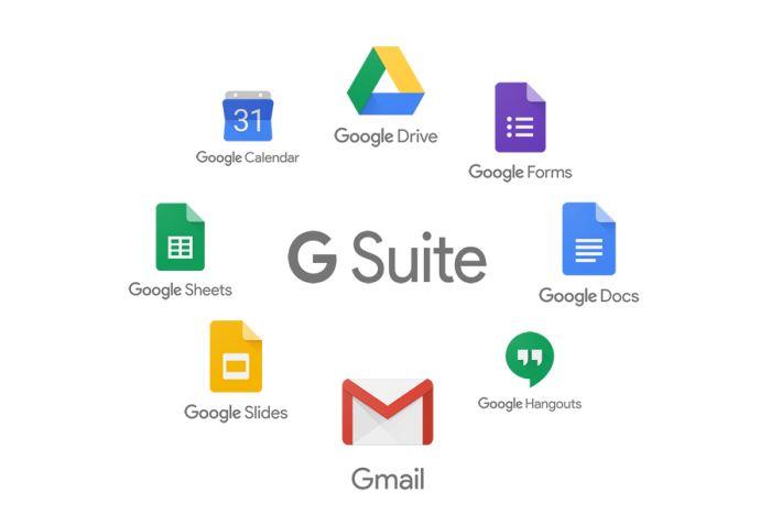 Aplicaciones de Google GSuite