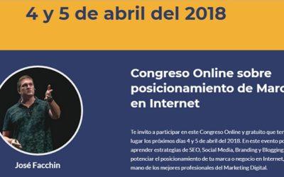 Congreso Online Gratuíto #Posiciona18 ¿Te lo vas a perder?
