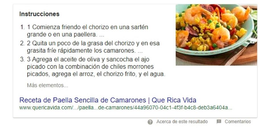 ejemplos para aumentar el ctr en google