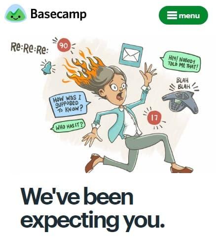 Basecamp app
