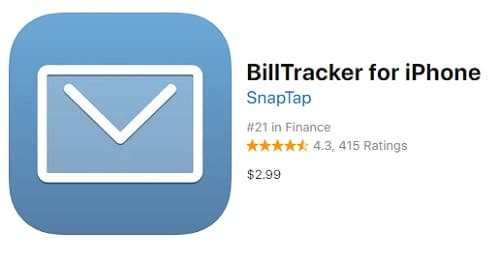 Billtracker app