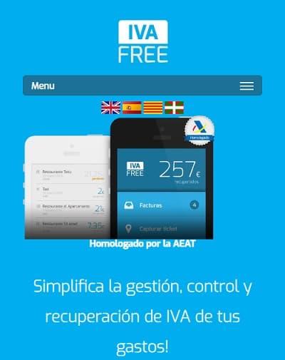Iva free app