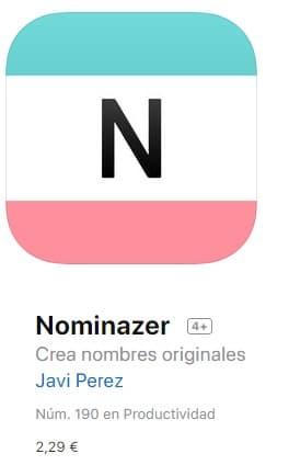 Nominazer app