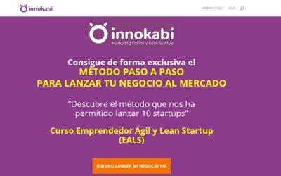 Formación en lean startup para proyectos en Internet