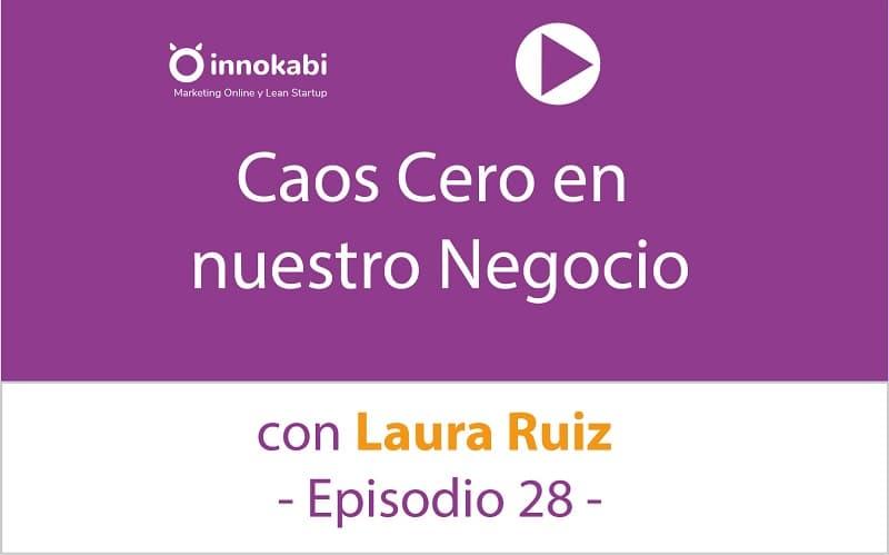 Caos Cero en tu Negocio con Laura Ruiz – Episodio 28 del Podcast de Innokabi