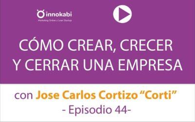 Cómo Crear, Crecer y Cerrar una Empresa con «Corti» y Brainsins – Ep 44 Podcast Innokabi