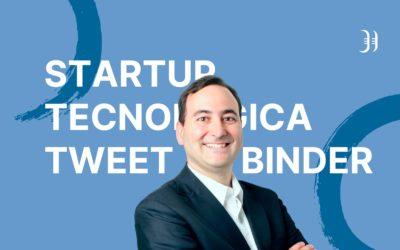 Crear una startup tecnológica; Tweet Binder. Entrevista a Javier Ábrego – Episodio 95 Podcast Innokabi
